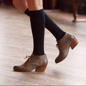 Kork ease Helene brown booties.